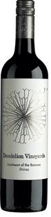 Dandelion Vineyards Shiraz Lionheart Of The Barossa 2010...